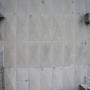 Estado inicial del muro de hormigón